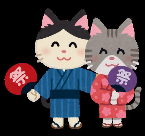 animal_yukata_couple_cat